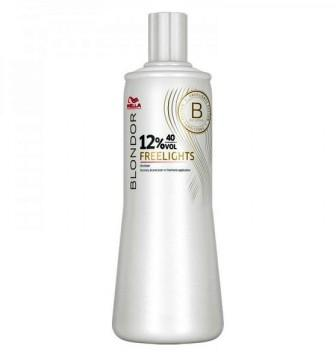 Wella Freelights Окислитель 12% Blondor Freelights 1000мл 81472335 в магазине BEAUTY-BAZAR.RU