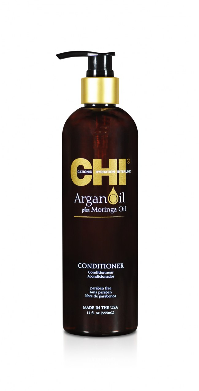CHI . ARGAN OIL. Кондиционер с экстрактом масла арганы и дерева Маринга 750 мл CHIAC25 в магазине BEAUTY-BAZAR.RU