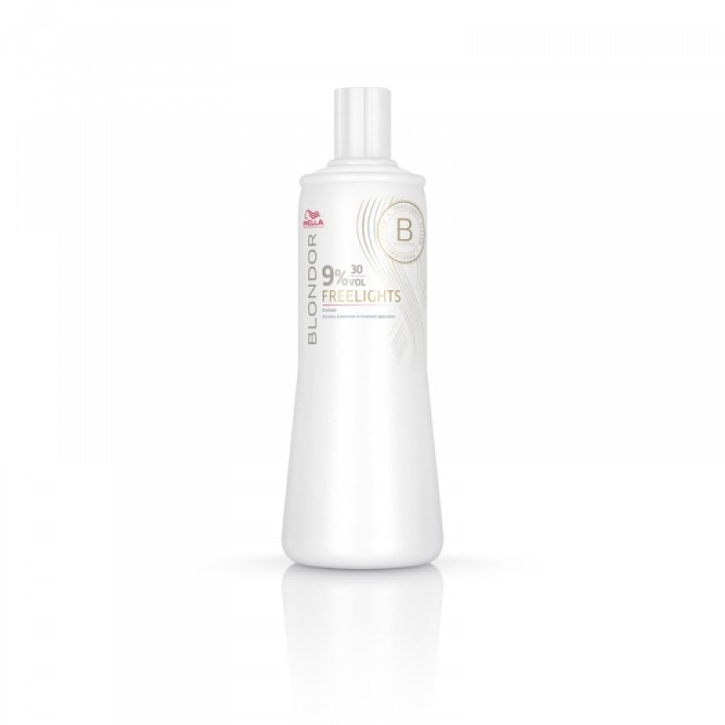 Wella Freelights Окислитель 9% Blondor Freelights 1000мл 81472327 в магазине BEAUTY-BAZAR.RU